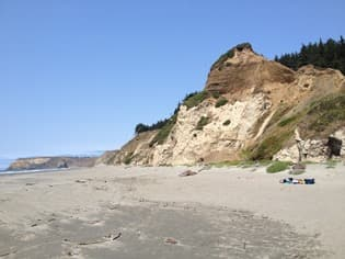Cape Blanco State Park Beach, 2014