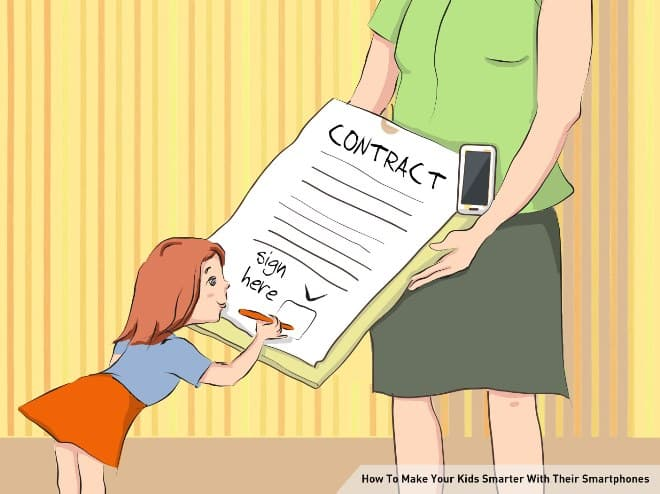 Make a Contract | Make Your Kids Smarter With Their Smartphones