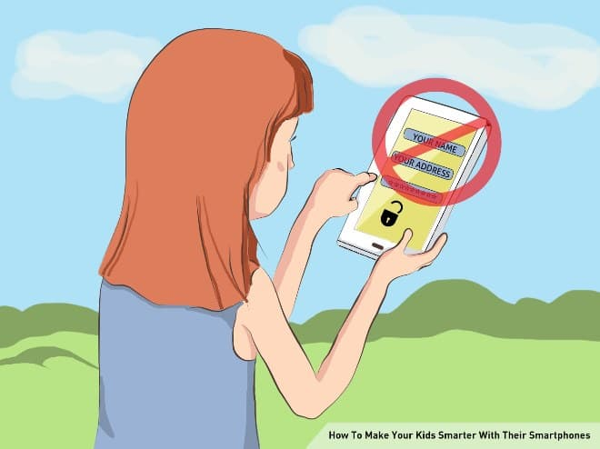 Sharing Personal Information | Make Your Kids Smarter With Their Smartphones