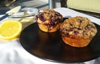 Blueberry Crisp Muffins: Savoring the Waning Days of Summer