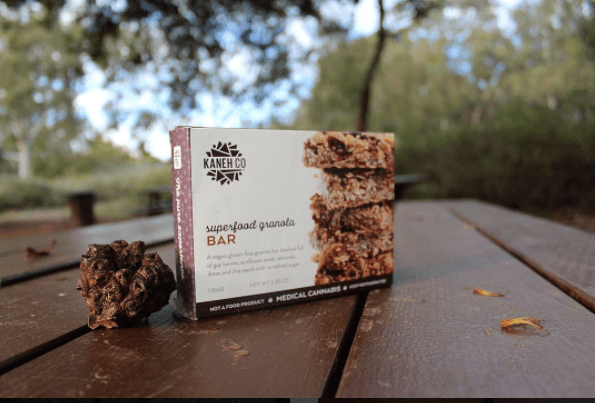 Marijuana granola bar courtesy of Kaneh Company