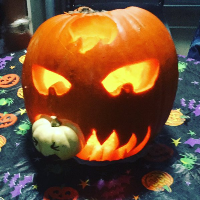 #PumpkinCarving Halloween2015 Photos
