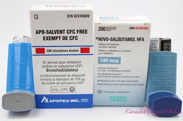 Salbutamol from Canada for CPOHealth