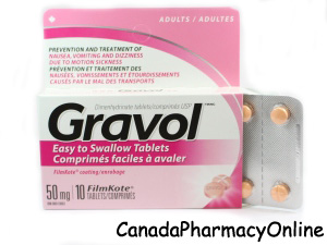 Gravol online Canadian Pharmacy