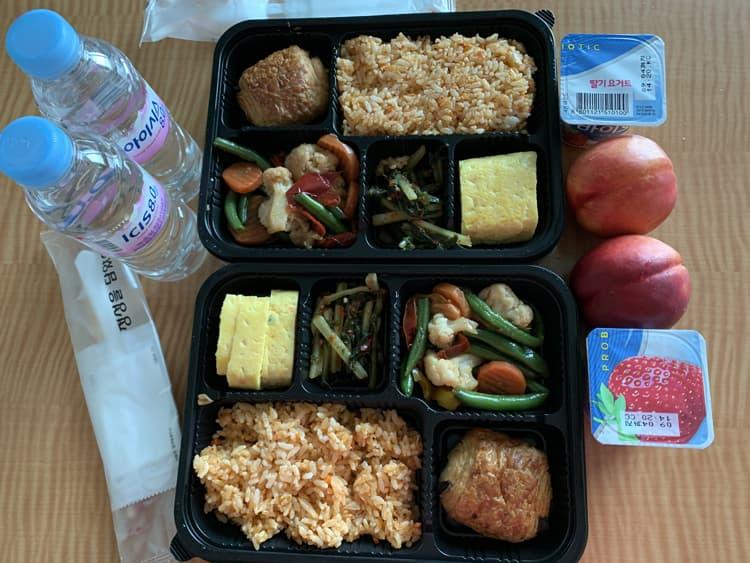 Photo Credit: Day 4 (08/25/2020) breakfast, @tiffany.ironfan's Instagram