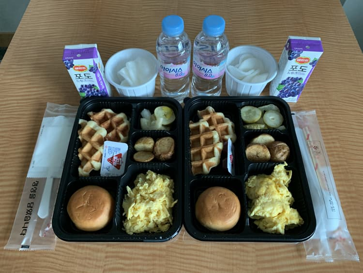 Photo Credit: Day 10 (08/31/2020) breakfast, @tiffany.ironfan's Instagram