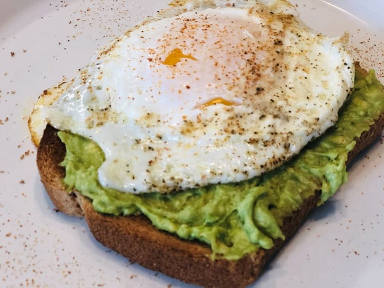 Photo Credit: egg avocado toast by Carissa Andrews