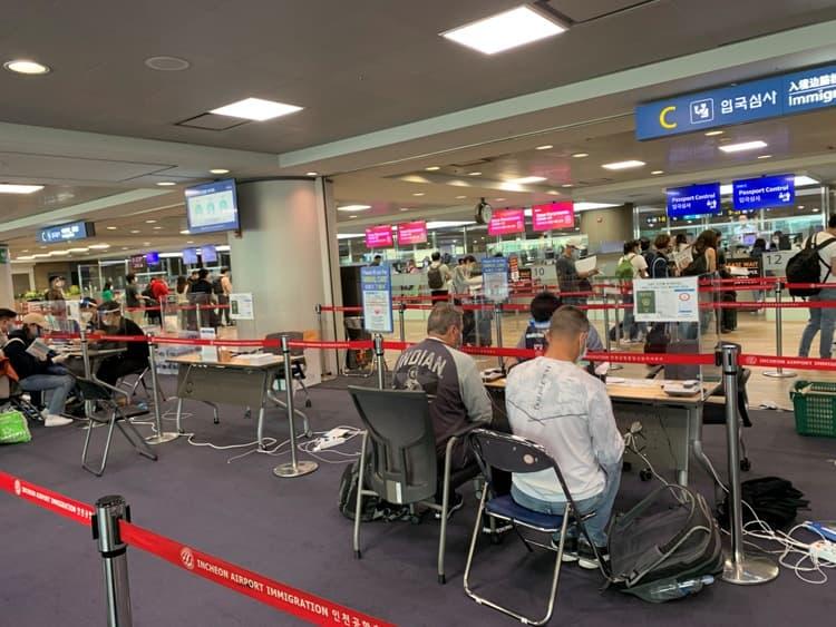 Photo Credit: Incheon Airport quarantine inspection, @tiffany.ironfan's Instagram