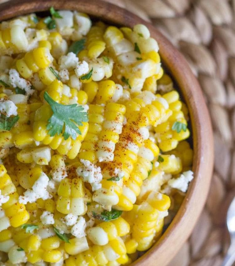 "Get the recipe for this chili lime corn salad at <a href=""https://lovelylittlekitchen.com/chili-lime-sweet-corn-salad/"" target=""_blank"" rel=""nofollow""> Lovely Little Kitchen</a>. Photo: Lovely Little Kitchen."